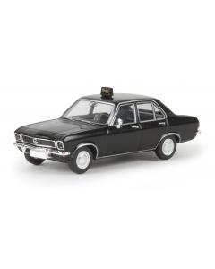 H0 Opel  Ascona  A  -Taxi-,  TD (BRE20378)