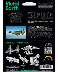 Metal Earth: F-35 Lightning II - MMS065 (MEA570065)