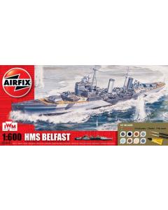 1/72 HMS Belfast Gift Set Airfix 50069