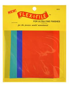 Flex-I-File Sheets Ultra Fine (Grit 1000/1500/6000/10000), 8 stuks Albion Alloys 802