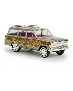 H0 Jeep  Wagoneer  gold  -woody- (BRE19856)