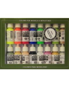 Wargame Special Model Color Paint Set, 16 kleuren Vallejo 70112