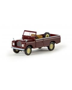 H0 Land  Rover  109  offen,  weinrot (BRE13752)