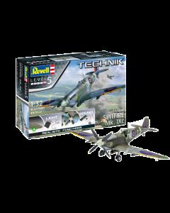 1/32 Supermarine Spitfire Mk.IXc - Technik (REV00457)