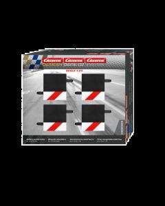 132/24 Slipstrook Binnen- of Buitenrand 1/4e Recht Baanstuk, 4 stuks (CAR20589)