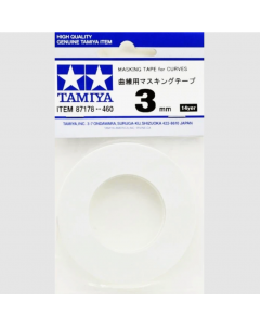 Masking Tape 3mm/20m (Curves) (TAM87178)