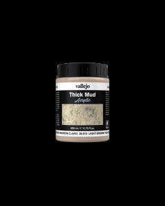 Light Brown Splash Mud, Thick Mud 200ml - Vallejo 26810 (VAL26810)