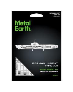 Metal Earth: German U-Boat Type XXI - MMS121 (MEA570121)