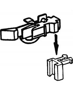 H0 Kortkoppelingen voor Ade rijtuigen, 2 stuks (ROC40286)