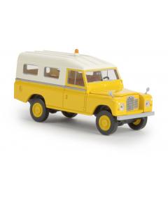 H0 Land Rover 109 gelb, (BRE13776)