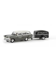 H0 Opel  PII  Caravan  -Bestatter- (BRE20170)