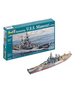 1/1200 USS Missouri (REV05128)