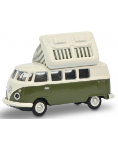 H0 VW T1c Campingbus, groen/wit (SCU26604)