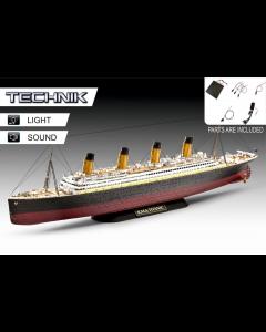1/400 RMS Titanic - Technik (REV00458)