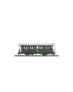 H0m RhB A 1102 Historischer Dampfzugwagen - Bemo 3232 142 (BEM3232142)