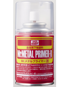 Mr. Metal Primer R Spray 100ml Mr. Hobby 504