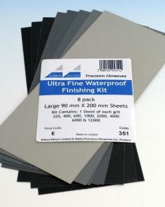 Ultra Fine Waterproof Finishing Kit Albion Alloys 351