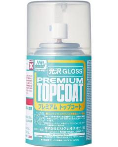 Mr. Premium Topcoat Gloss Spray 88ml Mr. Hobby 601
