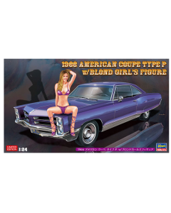 1/24 BMW 1966 American Coupe Type P w/Blond Girl