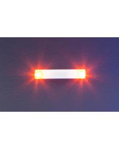 H0 Knipperlichten elektronica, 20,2 mm, oranje (FAL163764)