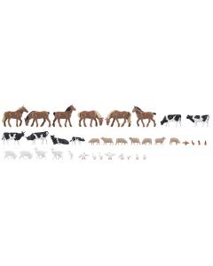 H0 Dieren op de boerderij 36 stuks (FAL150938)