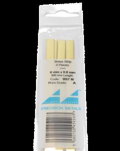Messing Strip 0.8X6.0mm, 4 stuks Albion Alloys 7