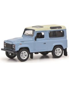 1/64 Land Rover Defender, lichtblauw (SCU20275)