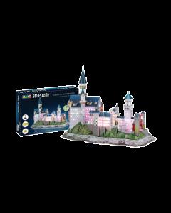 3D Puzzle Schlot Neuschwanstein - LED Edition (REV00151)