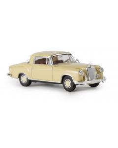 H0 MB  220  S  Coupe,  beige (BRE13501)