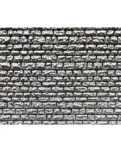 H0 Muurplaat, natuursteenmuur Faller 170863
