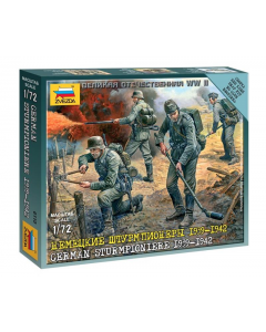 "1/72 German Sturmpioniere (1939-1942), snap fit ""Art of Tactic"" (ZVE6110)"