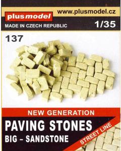 1/35 Bestrating Zandstenen, groot (PLM137)