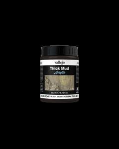 Russian Splash Mud, Thick Mud 200ml - Vallejo 26808 (VAL26808)