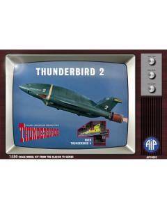 1/350 Thunderbirds: Thunderbird 2 w/Thunderbird 4 Adventures in Plastic 10002