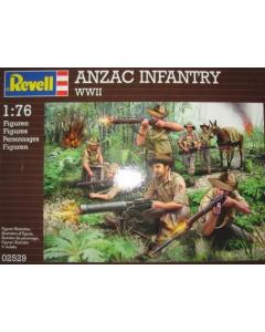 1/76 Anzacs Infanterie, WWII (REV02529)