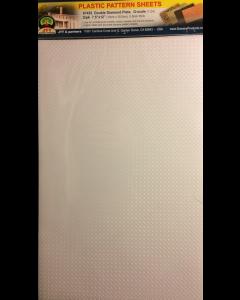 1/48 Traanplaat wit (dubbel), 190 x 305 mm, 2 stuks (JTT97452)