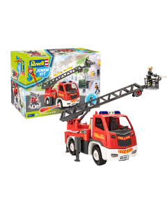 1/20 Junior Kit - Ladderwagen met figuren (REV00823)