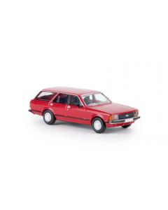 H0 Ford  Granada  II  Turnier,  rot,  TD (BRE19500)