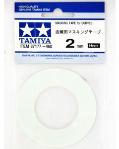 Masking Tape 2mm/20m (Curves) Tamiya 87177