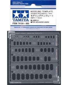 Modeling Template RR 1-6 Tamiya 74154