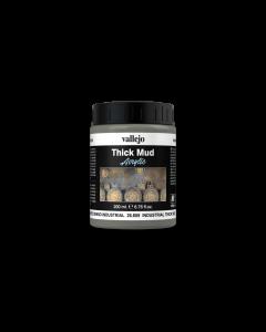 Industrial Spalsh Mud, Thick Mud 200ml - Vallejo 26809 (VAL26809)