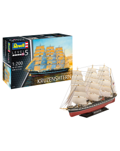 1/200 Russian Barque Kruzenshtern (REV05159)