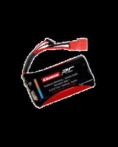 RC 6,4V 1300mAH 1,3A LiFePo4 Batterij / Accu met rode stekker (CAR600052)