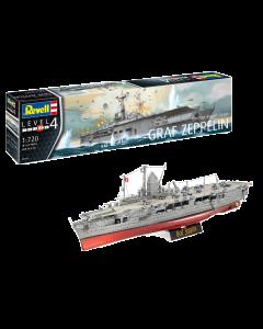 """1/720 German Aircraft Carrier """"Graf Zeppelin"""" (REV05164)"""