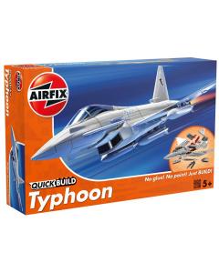 QUICKBUILD Eurofighter Typhoon Airfix 6002