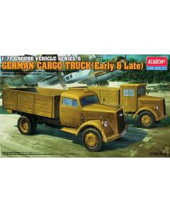 1/72 German Cargo Truck (Early & Late) (ACA13404)