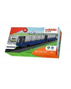 """H0 My World - Wagen-Set """"Airport Jettainer"""", 2-delig Marklin 44117"""