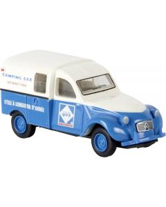 H0 Citroën 2 CV Kastenente -camping gaz- (BRE14175)