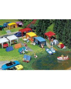 H0 Camping tenten set Faller 130504