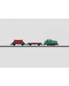 """H0 DB Startset Start Up - """"Mijn Start met Märklin"""", Diesellocomotief DHG 500 met 2-Goederenwagens (MAR29162)"""